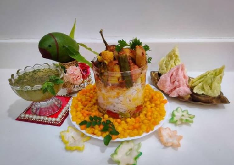 How to Prepare Favorite Sindhi special Kadhi Chawal,Sweet Boondi and Kairipanna