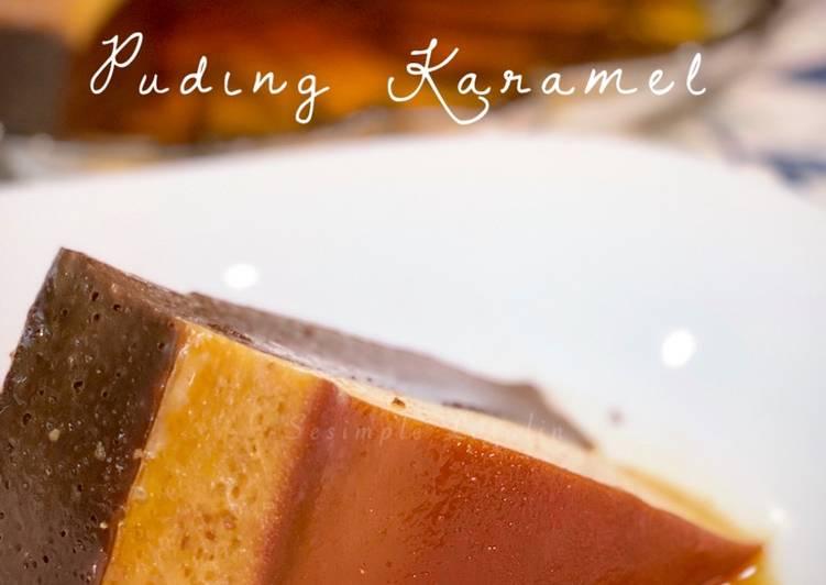 Puding Karamel Bercoklat - velavinkabakery.com