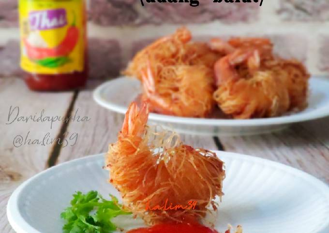 Goong Sarong (udang balut)