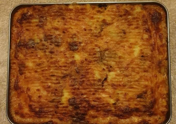 Crushed Jacket Potatoes Tray bake