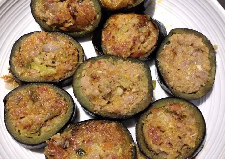 Easiest Way to Prepare Delicious Stuffed Eggplant