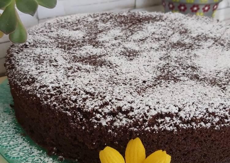 Torta cacao, panna e gocce di cioccolato (Ricetta Bimby)