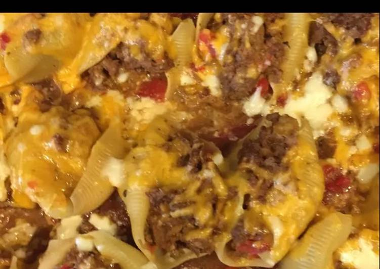 15 Minute Recipe of Cooking Mexican Stuffed Shells