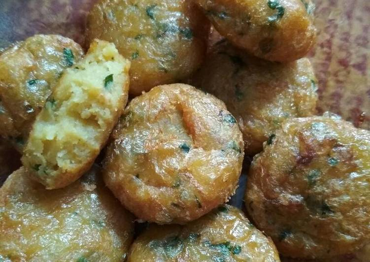Resep Perkedel kentang padang oleh nurli - Cookpad