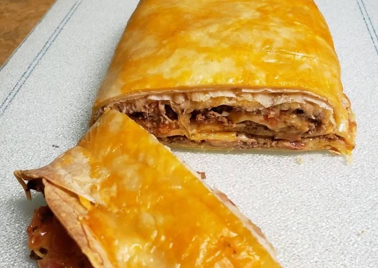 Steps to Prepare Super Quick Homemade Taco roll