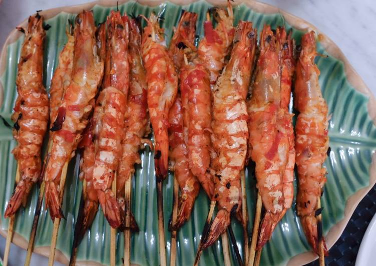 Recipe: Tasty Grilled Tiger Shrimp