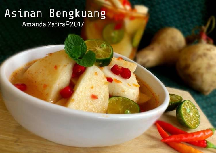Asinan Bengkuang