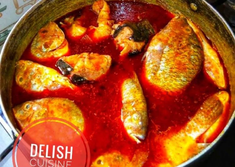 Step-by-Step Guide to Prepare Perfect Fresh fish (Tilapia) soup