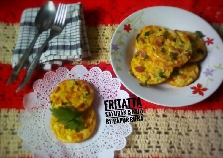 Fritatta Sayuran & keju