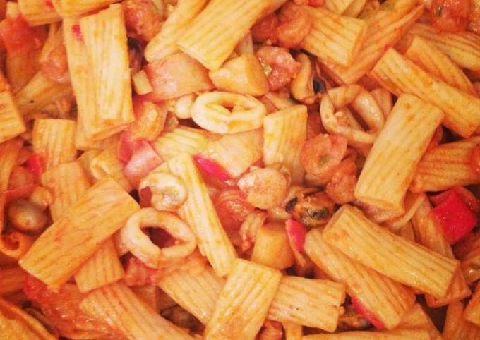 Recipe of Favorite Seafood pasta