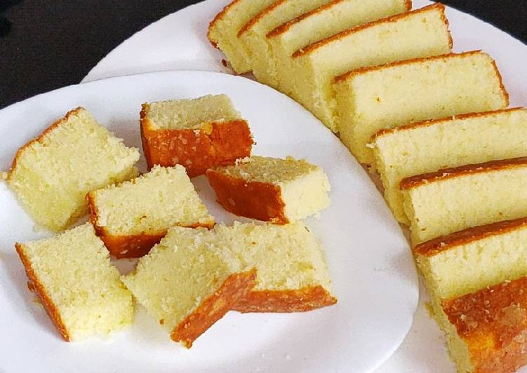 Vanilla Butter Sponge Cake Recipe
