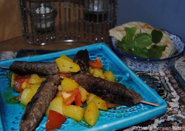 Spicy pan fried kebab