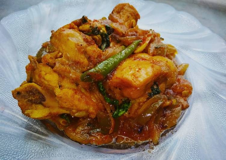 Recipe of Super Quick Homemade Dhaba Style Chicken Curry