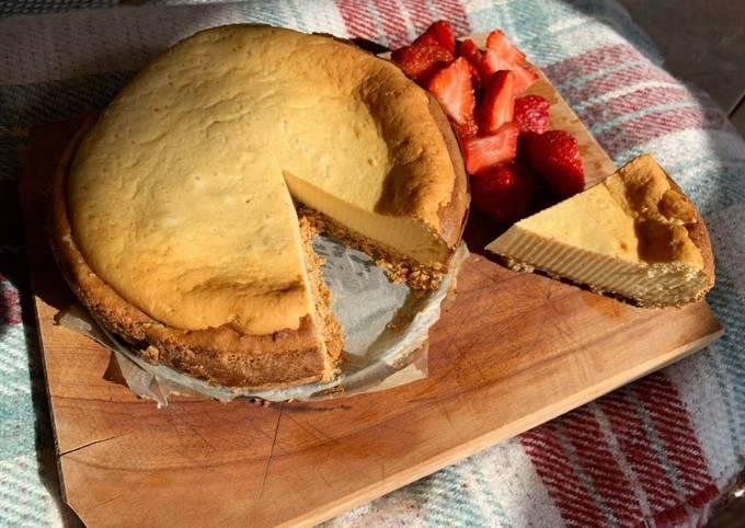 Keto-ish Cheesecake