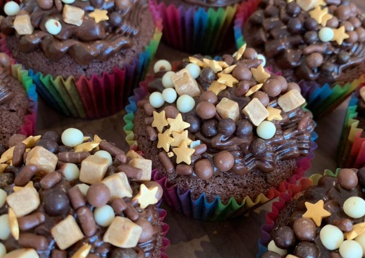 Recipe of Quick Chocolate cupcakes