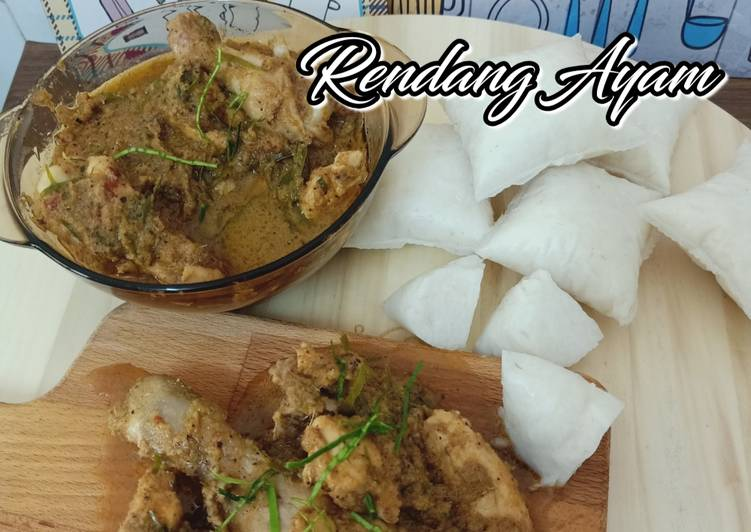 Rendang Ayam Simple - velavinkabakery.com