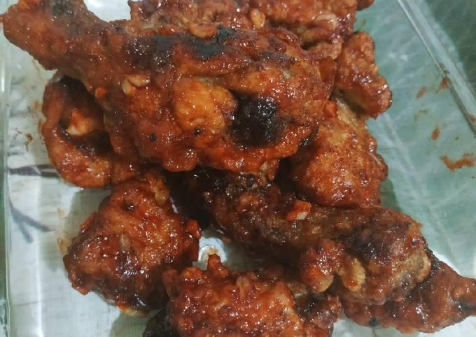 Easy Buffalo Chicken Wings