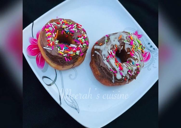 Recipe: Delicious Glazed doughnuts