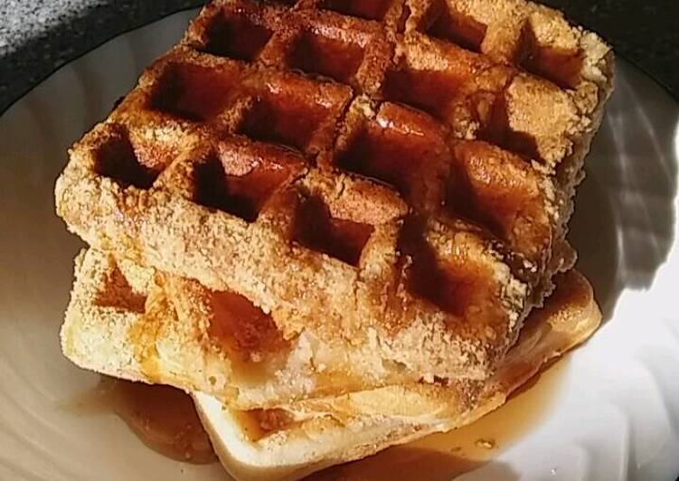 Double Dipped Waffles