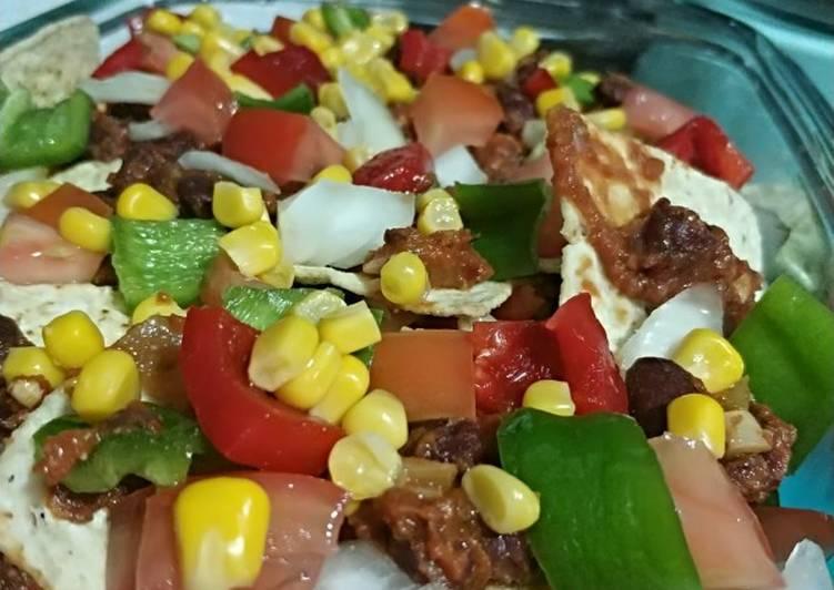 Nachos Panchos (vegetarianos)