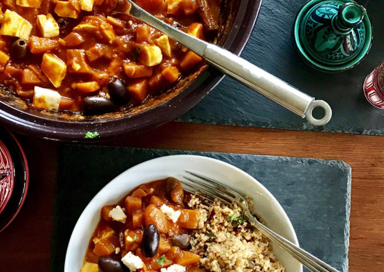 Simple Way to Prepare Ultimate Butternut Squash Tagine