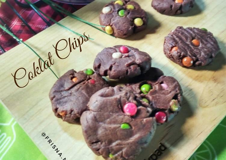 Coklat Chips Kukis Super Renyah