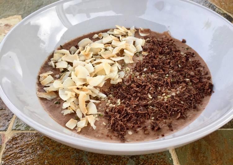 Hemp and Chia Seed Chocolate Pudding
