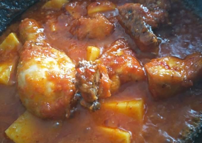 Ayam Masak Sos Plum