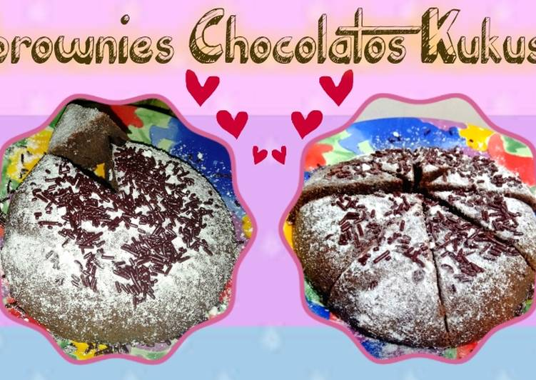 Brownies Chocolatos Kukus