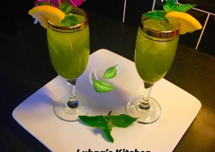 Recipe of Favorite Non Alcoholic Mint �Margarita