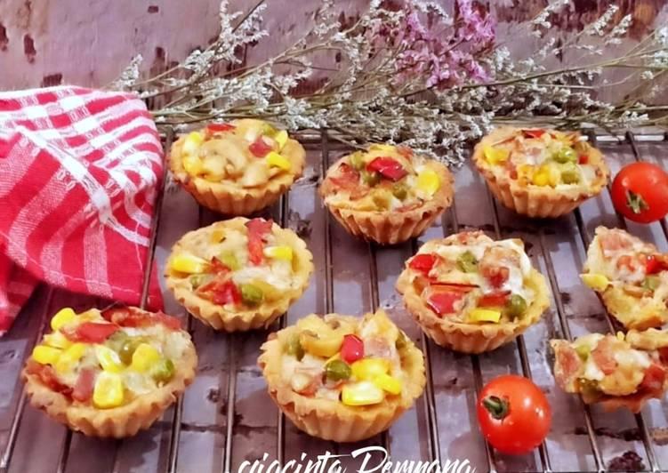Pie Kentang sayur Mozzarella