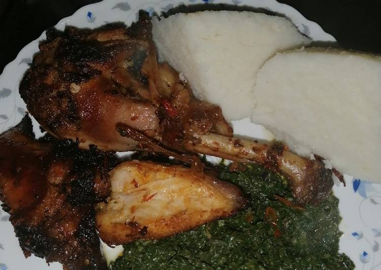 Recipe: Good Cripsy, juicy baked chicken drumstick