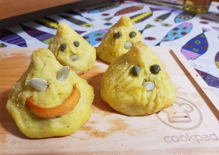 Ricetta Patate fantasmine con sorpresa
