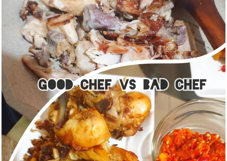 Ayam panggang vs goreng maknyuss - cookandrecipe.com