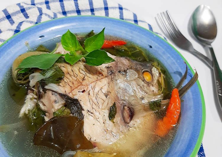 Sop Ikan Gurame Kemangi