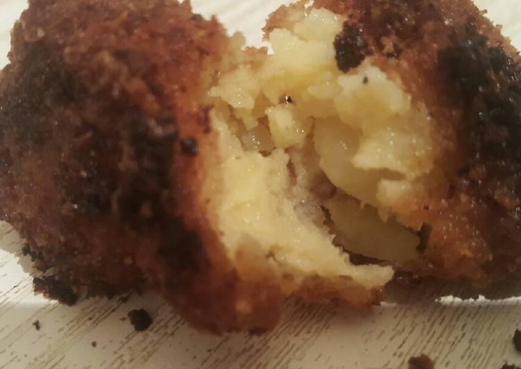 Croquettes de pomme de terre 💕💕