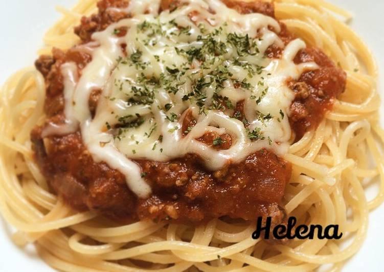 Spaghetti Bolognese / Saus Bolognese Homemade