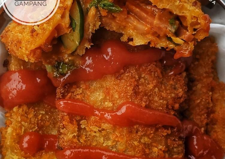 Risoles Burger super gampang & ga ribet bisa Buat stok cemilan