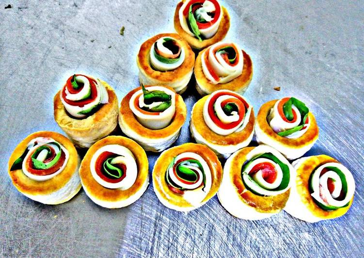 Easiest Way to Make Appetizing Caprese Vol au vent