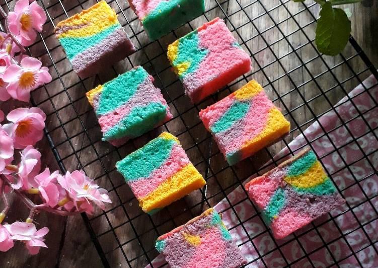 Cheese Unicorn Ogura Cake #cookpadpeduli #kankerpayudara