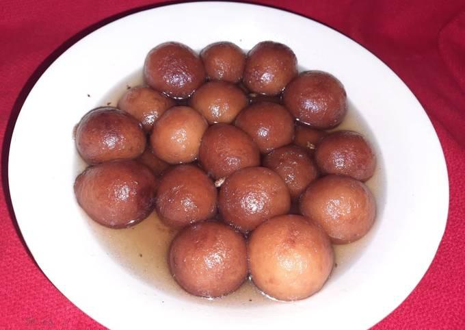 How to Cook Yummy Milk powder gulab jamun