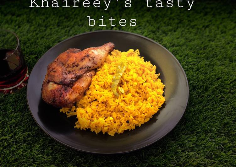 Tips How To Prepare Yummy Smokey Saudi chicken mandi.مندى بالدجج