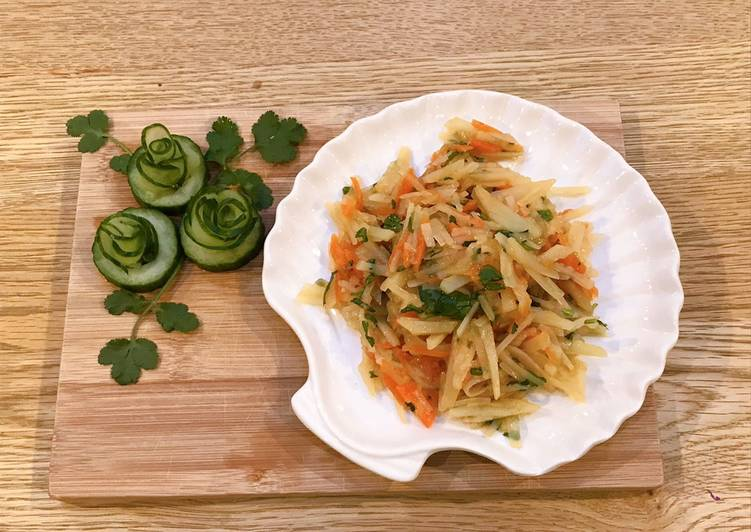 Recipe of Super Quick Homemade Taiwanese Potato salad
