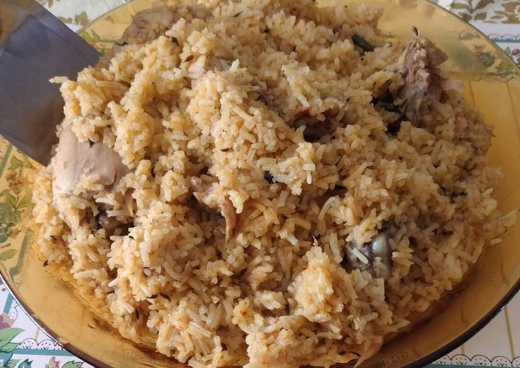 Top 100 Dinner Easy Homemade Chicken pilau #endofyearchallenge#