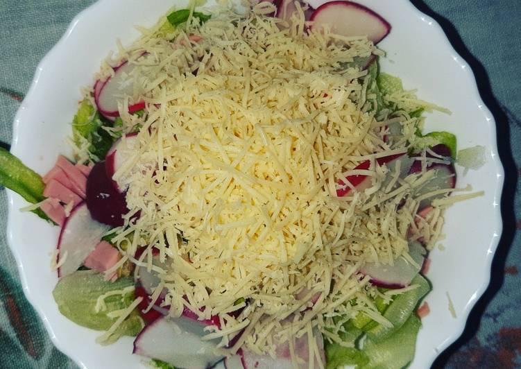 Recipe: Yummy Iceberg salad