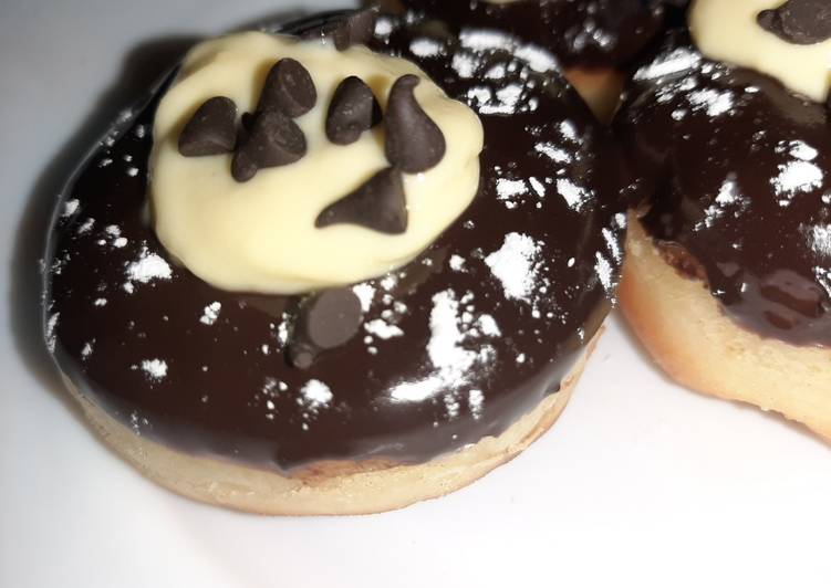 Easiest Way to Make Tasty Creamy Donuts 😊
