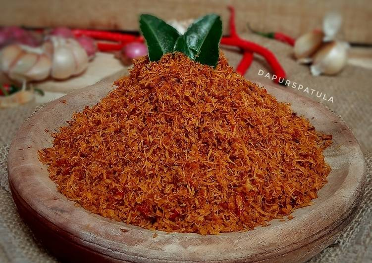 Serundeng Kelapa Pedas Manis - cookandrecipe.com