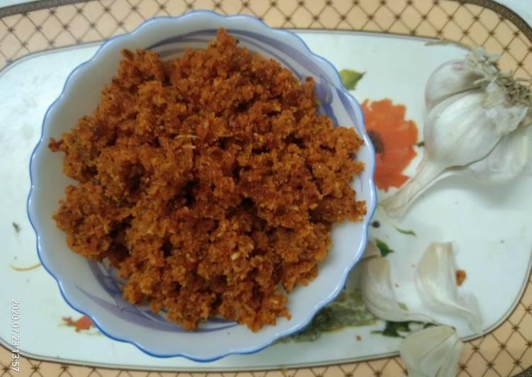 Recipe of Favorite Dry Garlic Chutney
