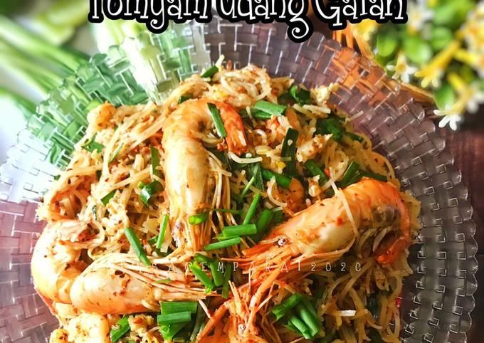 Phad Thai Tomyam Udang Galah