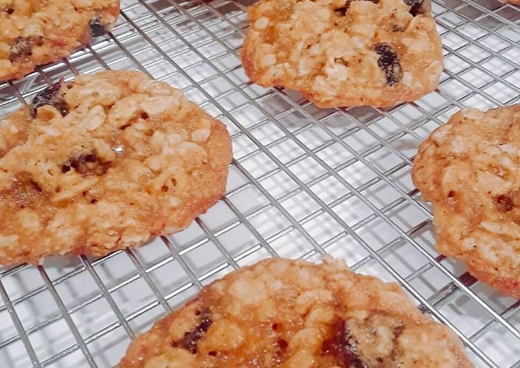 Cara Gampang Membuat Oatmeal Raisin Cookies yang Bisa Manjain Lidah